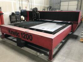 2004 Kinetic K1200 HPR130 CNC Plasma Cutter (#3413)