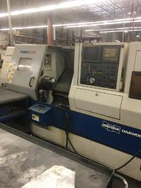 2005 Puma 240C CNC Turning Center (#3417)