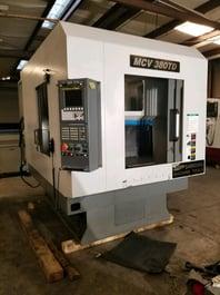 2013 Samsung MCV 380TD Vertical Machining Center (#3425)