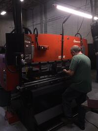 Amada RG-50 Up-Acting Press Brake (#3437)