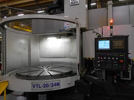 Mighty Viper 20-24M CNC Vertical Boring Mill (#3467)