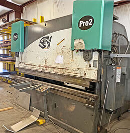 2006 Piranha Model Pro Series 2 CNC Press Brake (#3471)