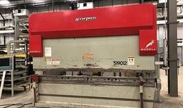 2004 Accurpress ACCELL 519012 Hydraulic Press Brake (#3486)