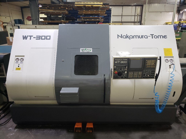 2005 Nakamura Tome WT 300 MMSY CNC Turning Center (#3520)