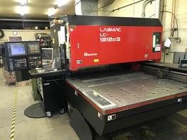 2000 Amada LC1212III 2KW Laser Cutting System (#3536)