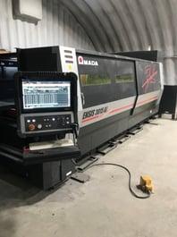 2017 Amada Ensis 3015 AJ Fiber Laser Cutting System (#3548)