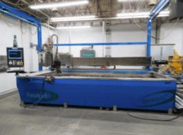 2009 Techni TJ4000-X2(PAC) i612 Waterjet Cutting System (#3569)