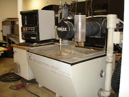 2002 Omax 2626 Waterjet Cutting System (#3576)