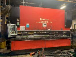 2007 Amada HFE 220 4S CNC Hydraulic Press Brake (#3590)