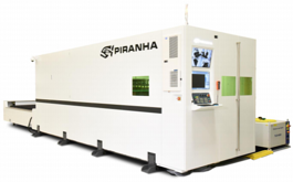 Piranha M510 Laser Cutting System (#3600)