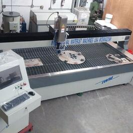 2019 IWM WC5WA3216H Waterjet Cutting System (#3601)