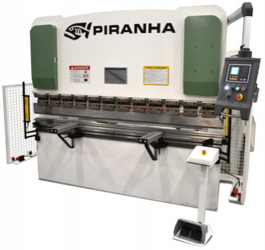 NEW Piranha 90-08 Hydraulic Press Brake (#3604)