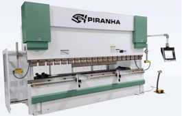 NEW Piranha 12-10 Hydraulic Press Brake (#3606)