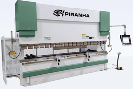 NEW Piranha 90-08 Hydraulic Press Brake (#3607)