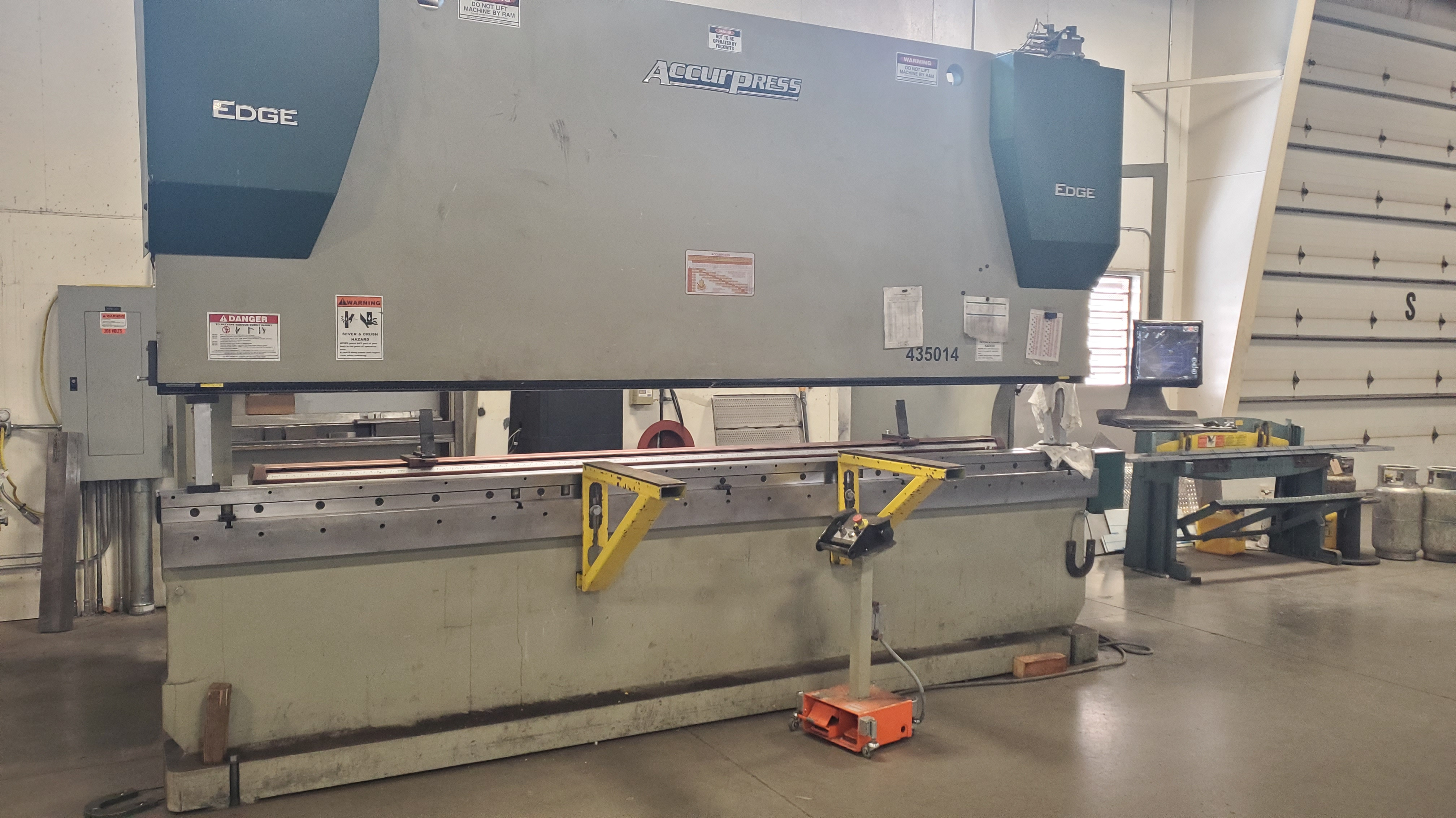 2015 Accurpress EDGE 435014 Hydraulic Press Brake (#3613)
