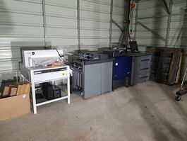 2018 Konica Minolta AccurioPress C3070 Printer (#3630)
