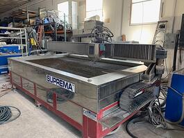 2008 Mitsubishi Suprema Waterjet Cutting System (#3645)