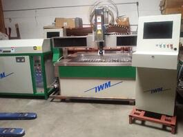 2019 IWM WC5WA1313H Waterjet Cutting System (#3658)
