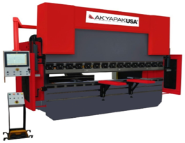 Akyapak 149 Ton X 10' CNC hydraulic Press Brake (#3665)