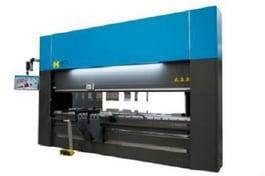 Haco EuroMaster 220 12 10 Hydraulic Press Brake (#3704)