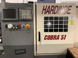 2000 Hardinge Cobra 51 CNC Turning Center (#3714)