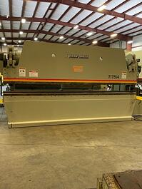 2003 Accurpress 717514 Hydraulic Press Brake (#3717)