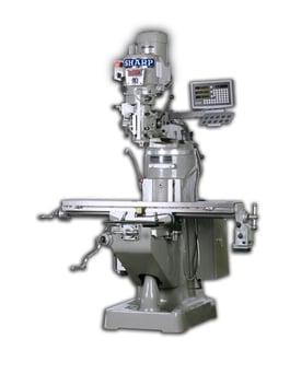 NEW Sharp LMV-49K-DVS Vertical Mill Package (#1305)