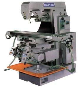 NEW Sharp UH-3 Horizontal Milling Machine (#1309)