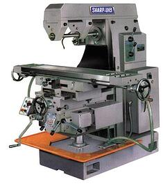 NEW Sharp UH-3 Horizontal Milling Machine (#1309)
