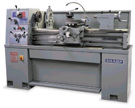 NEW Sharp 1440V Precision Variable Speed Manual Engine Lathe (#1317)