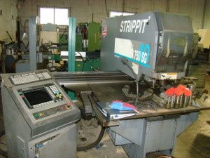 1997 Strippit Super 750/40 SGFabricator with Smart Gage - Single End Punch System #1112