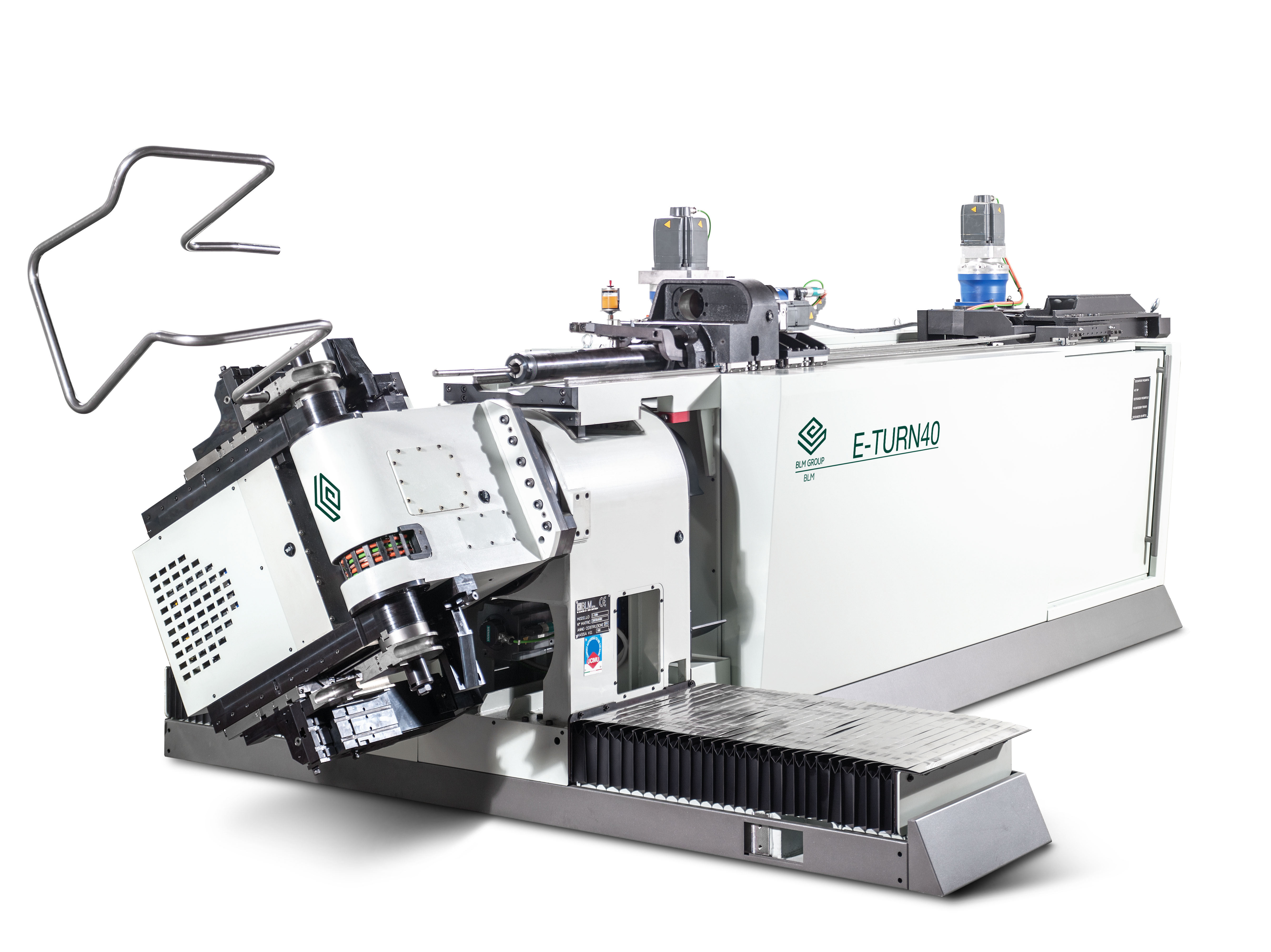 BLM E-TURN32 CNC Mandrel Style Tube Bending System