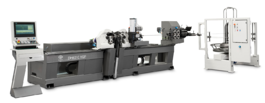 BLM DH4010VGP TWIN TURRET 3D WIRE BENDING SYSTEM