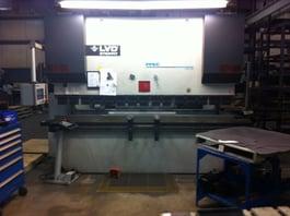 2010 LVD PPEC-5 CNC Hydraulic Press Brake (#1508)