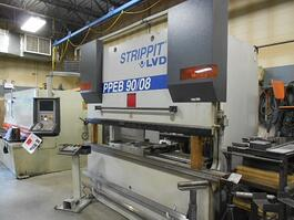 2001 LVD PPEB-8 90 Ton 10' 8-Axis Press Brake (#1731)