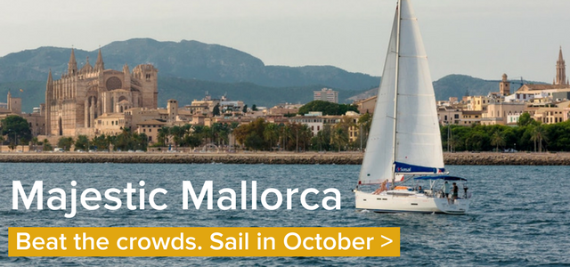 Sail in Mallorca this October