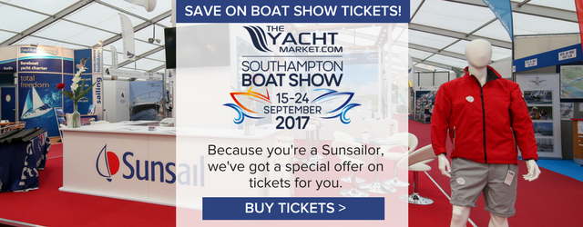 Tickets to Southampton Boat Show
