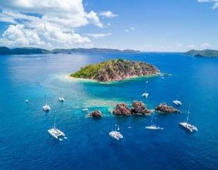 Caribbean dream: BVI flotilla