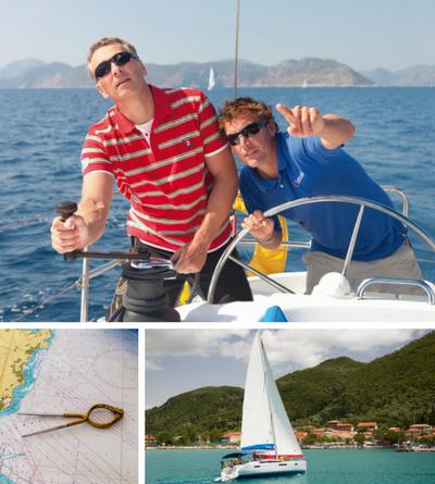 Learn to sail on flotilla