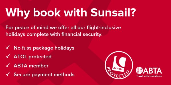 Why book with Sunsail?