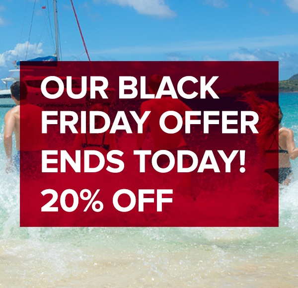 Sunsail Black Friday offer ends today