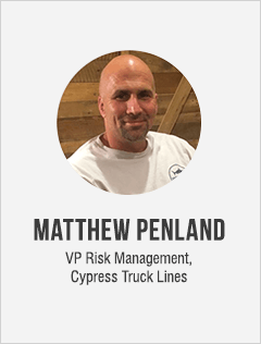 Matthew Penland, VP Risk Management