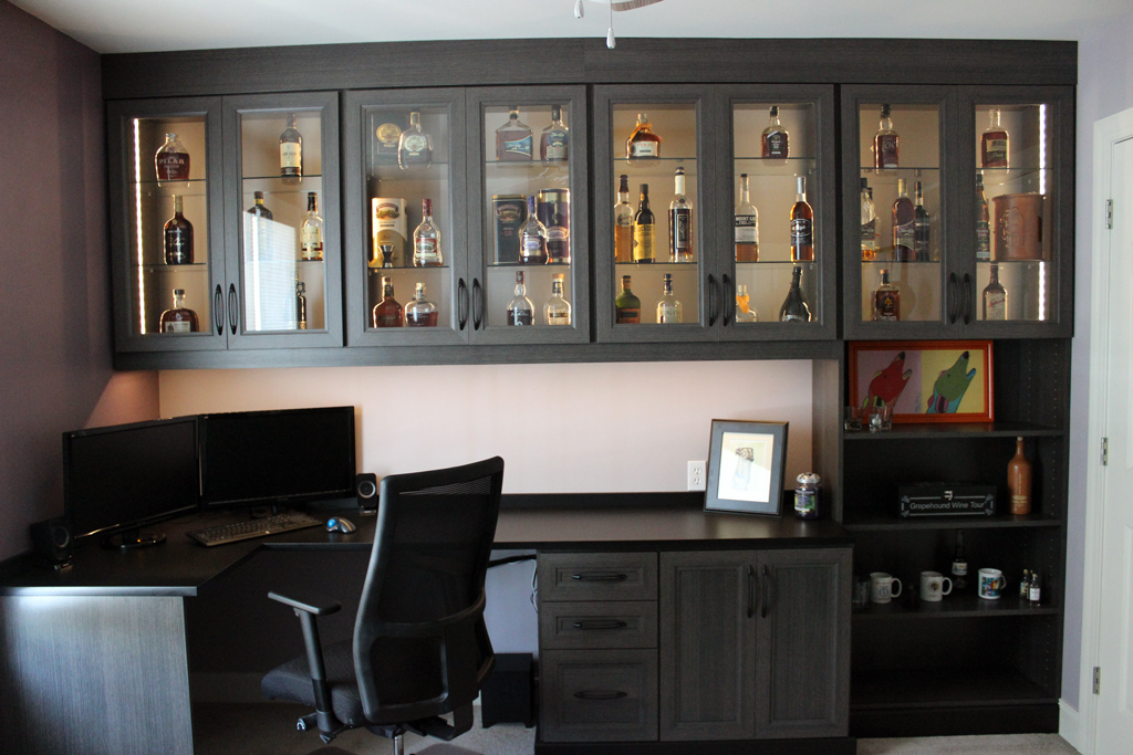 Beyond garage organization my ultimate home office makeover for Garage home office