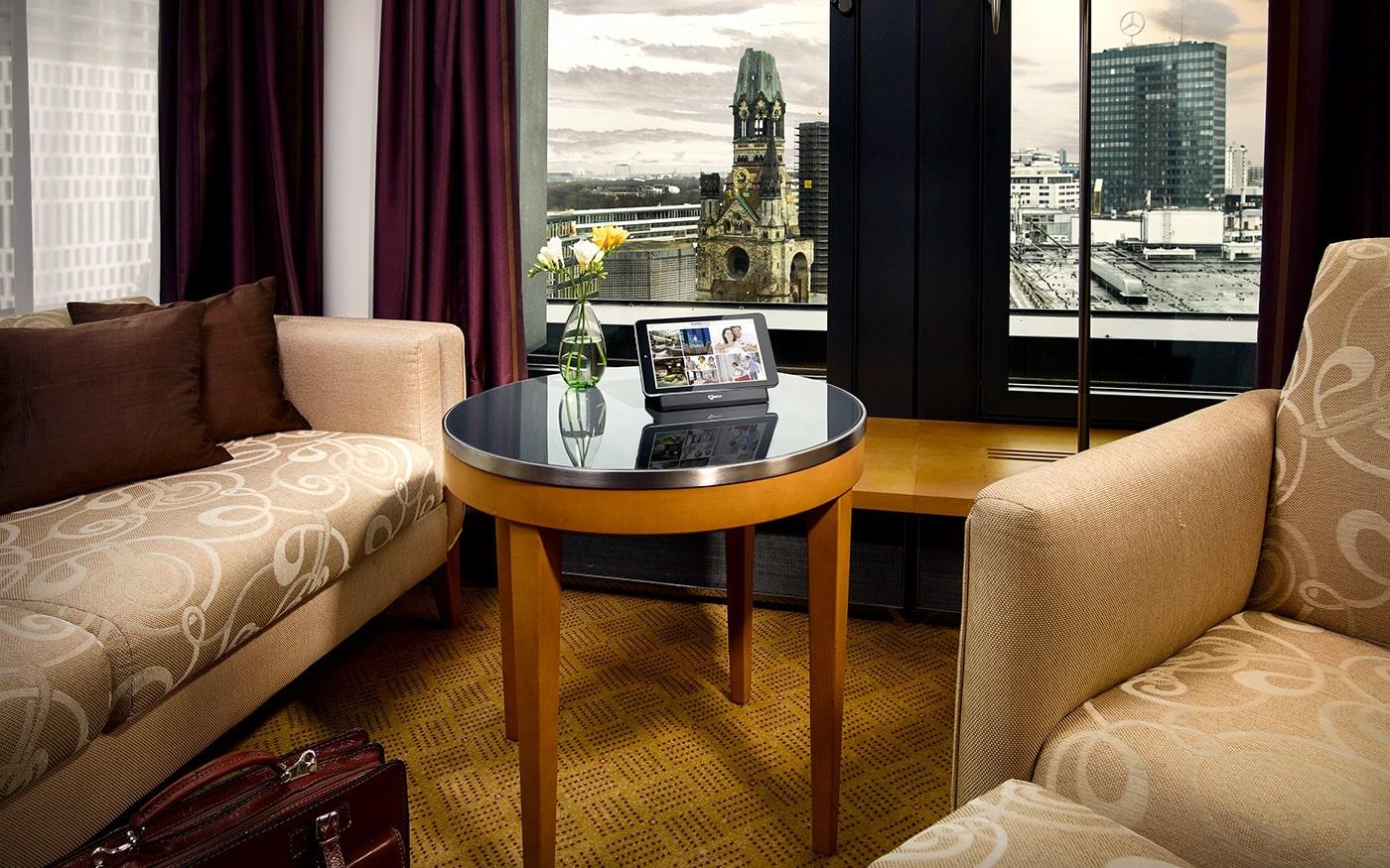 SuitePad öffnet neue Wege der Gästekommunikation während des Aufenthalts.
