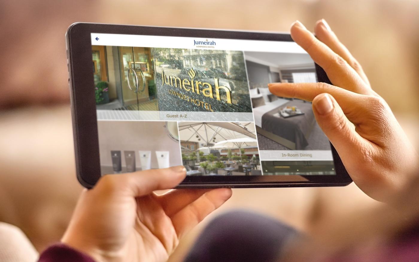 SuitePad's digital guest directory