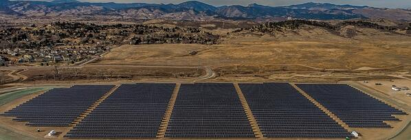 Loveland Completes 3.5 Megawatt Solar Project Replacing Century-old Hydroelectric Facility