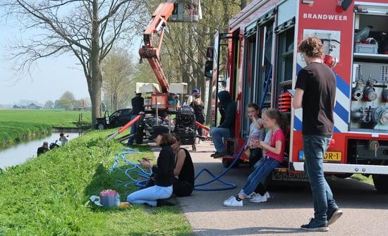 Brandwacht Huren brandweerauto
