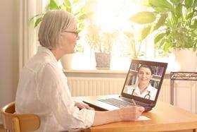 Videobellen met de dokter