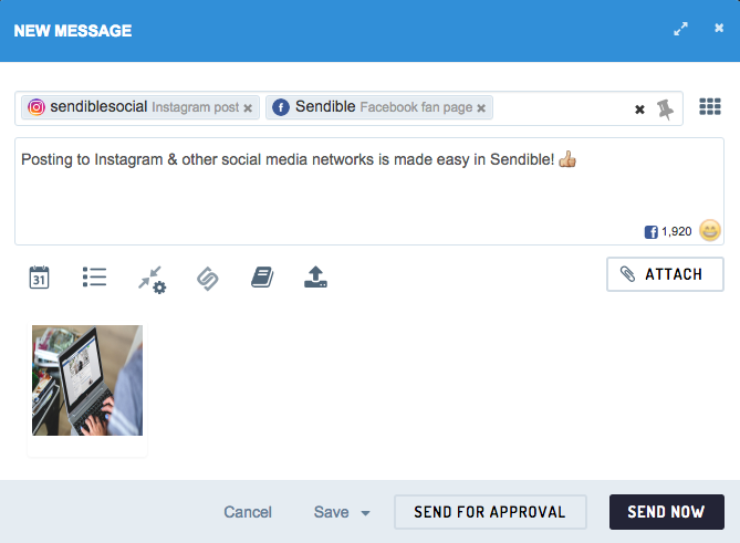 How to Manage Instagram Using Sendible