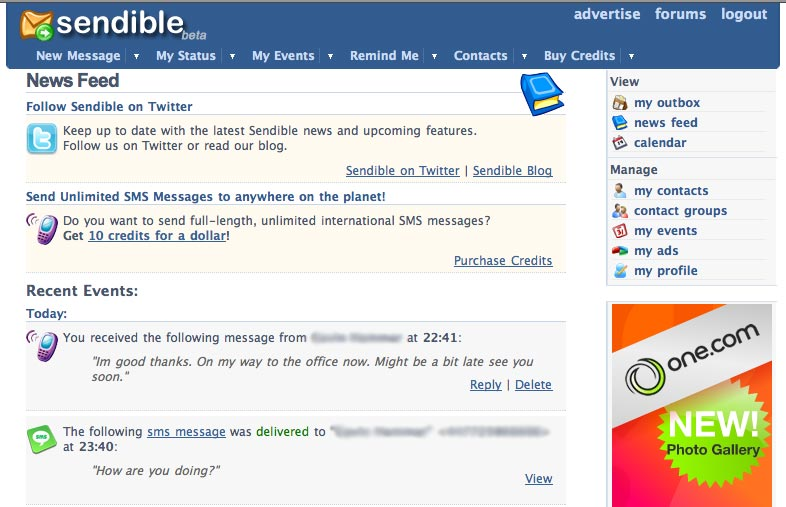 Get SMS Replies Sent to you by Email